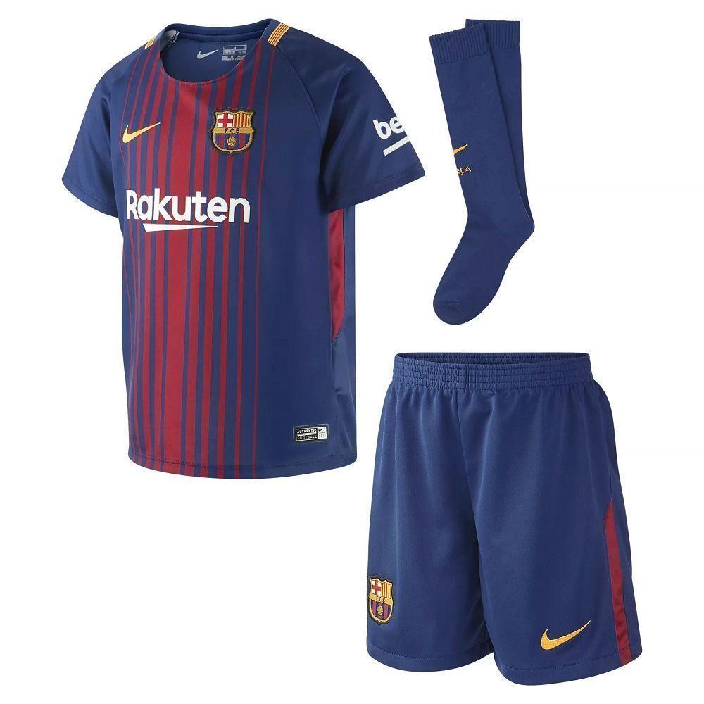 Детская форма Nike FC Barcelona Home