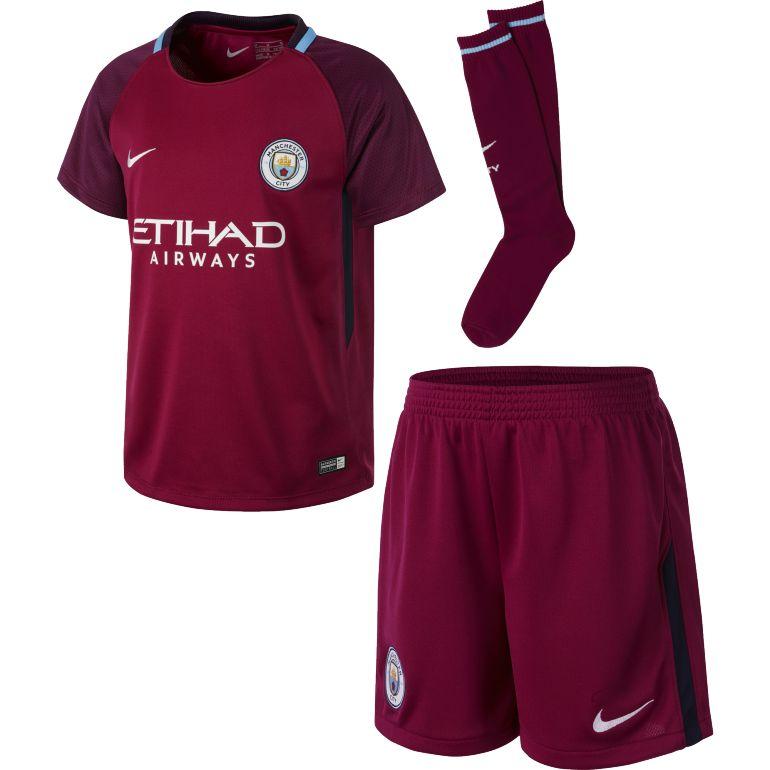 Детская форма Manchester City 17-18 Away