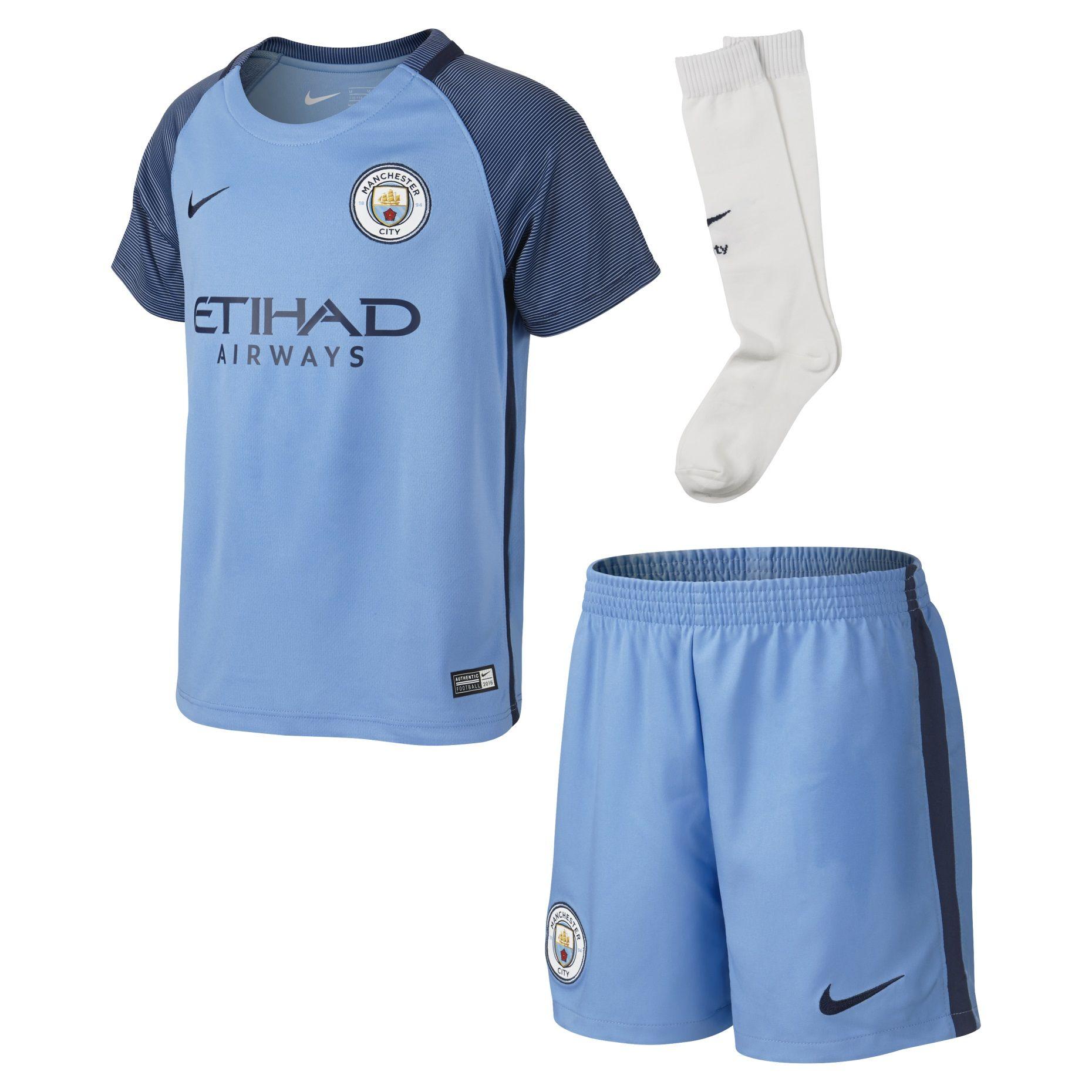 Детская форма Nike Manchester City Home 2016-2017