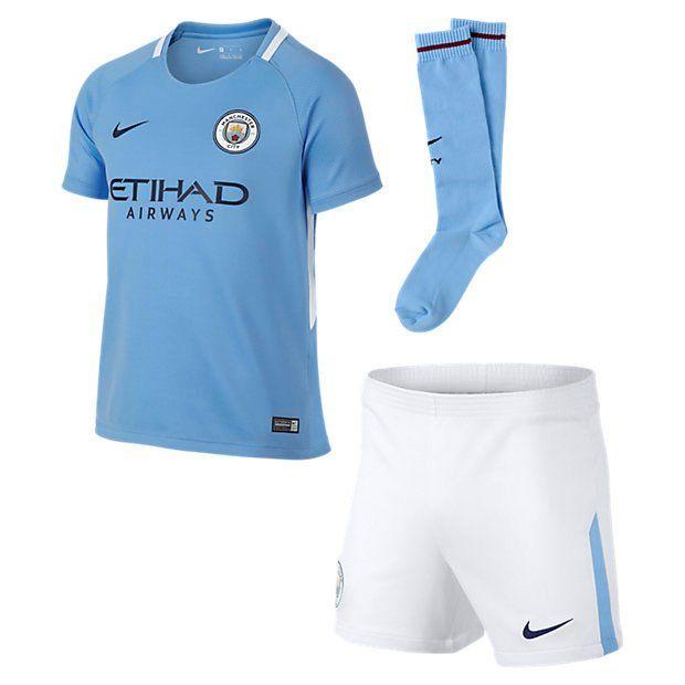 Детская форма Nike Manchester City Home 2017-2018