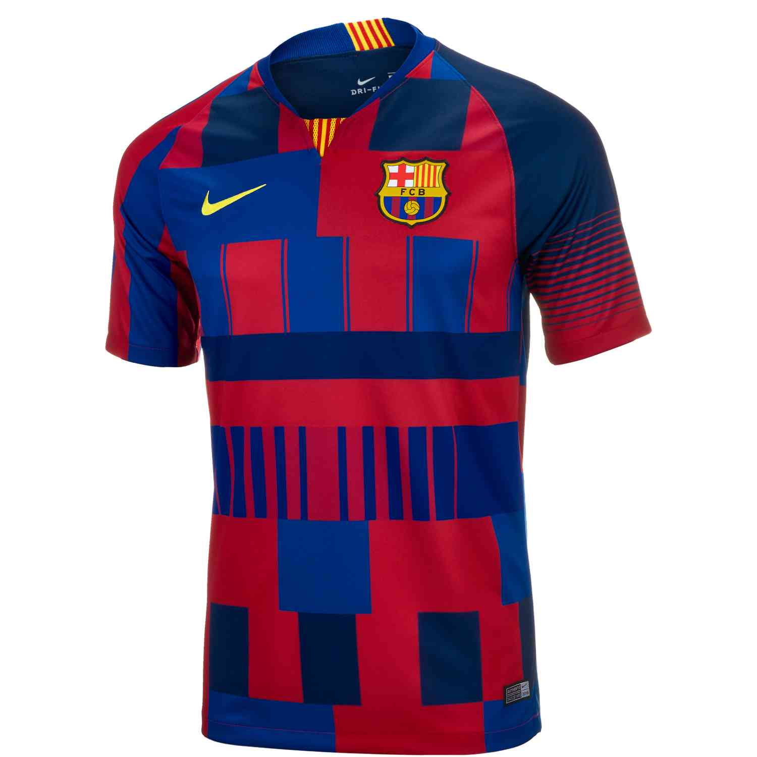 Игровая майка Nike Barcelona 20th Anniversary Home